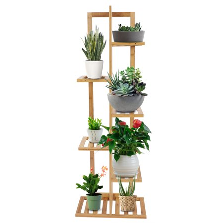 Herwey Wood Plant Stand Solid Flowers Plant Rack Shelves Display Shelf - image 8 of 8