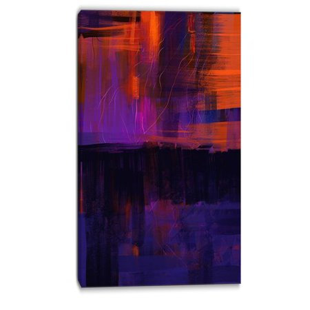 Design Art Textures vs. Textures Abstract Graphic Art on Wrapped (Club Textured Black Canvas)