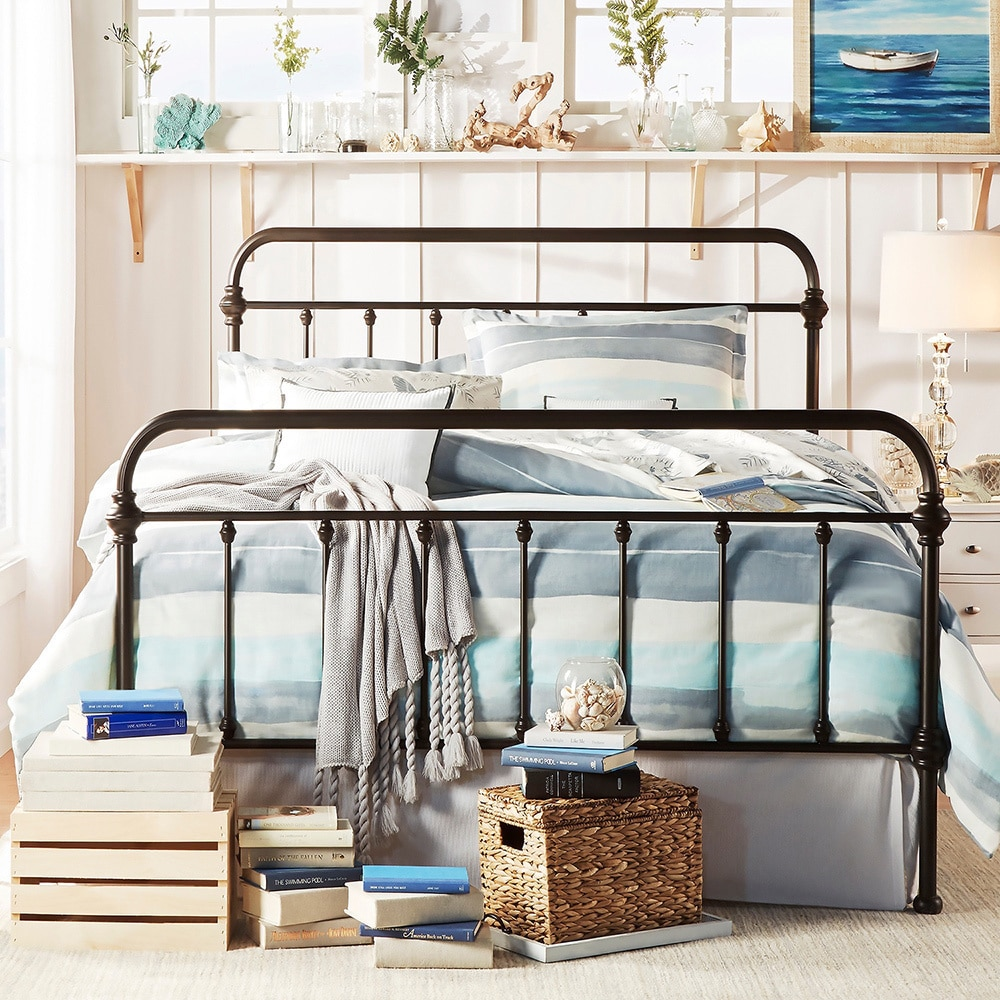 weston home nottingham metal bed multiple sizes and colors walmartcom