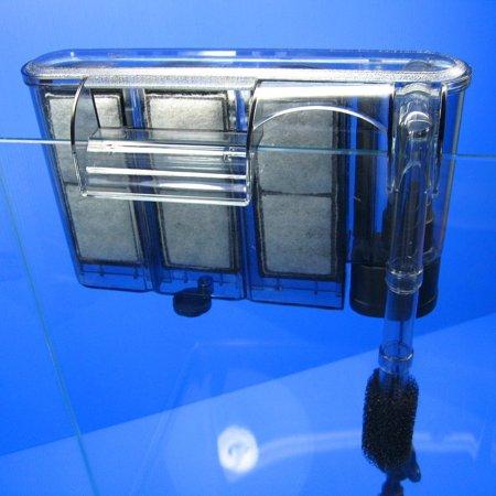 ISTA HANG ON FILTER 380L thin type for 35~50L fish tank Media Foam pads Sponge