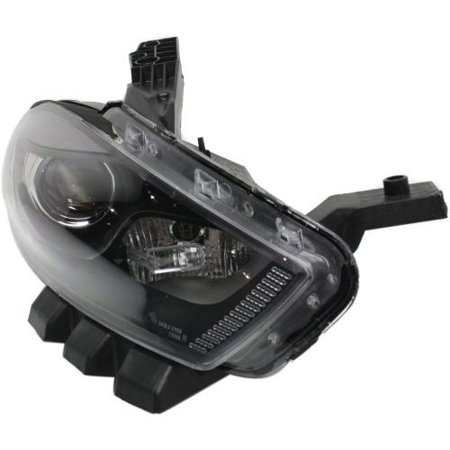 Go-Parts » 2013 - 2016 Dodge Dart Front Headlight Headlamp Assembly Front Housing / Lens / Cover - Right (Passenger) Side 68292808AB CH2519145 Replacement For Dodge