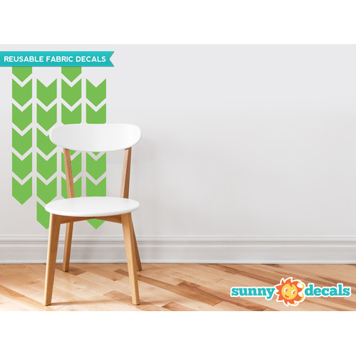 Sunny Decals Chevron Arrows Fabric Wall Decal (Set of 26)