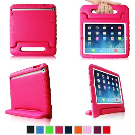 Fintie Ipad Air Kiddie Case   Lightweight Shockproof With Convertible Handle Stand Kids Friendly Cover  Magenta