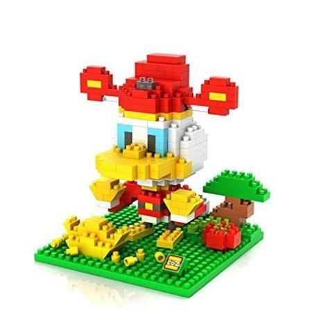 LOZ DIY Diamond Mini Blocks Figure Toy Donald Duck 360Pcs