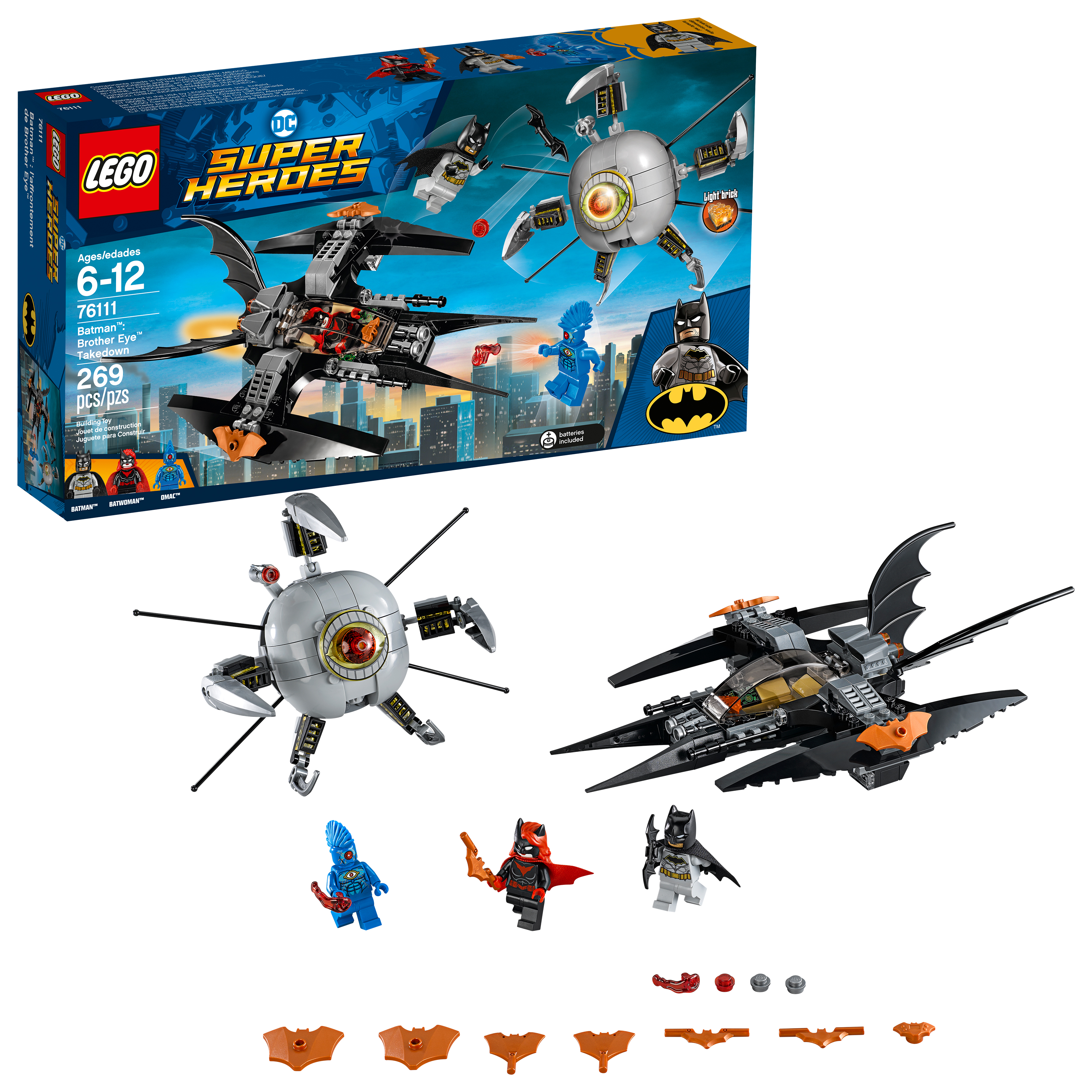 Lego Super Heroes Batman: Brother Eye Takedown 76111 by LEGO System Inc