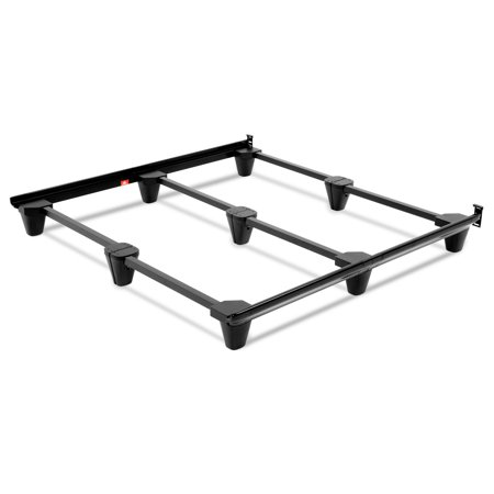 Presto Universal Sized Folding Bed Frame with Headboard Brackets ...