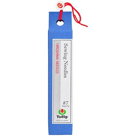 - Hiroshima Tulip Needles Quilt Basting Needles Long/Reg Sharp # 7