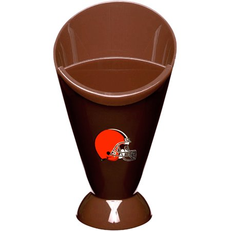 Cleveland Browns Snack Cone with Removable Dipping Cup - No Size