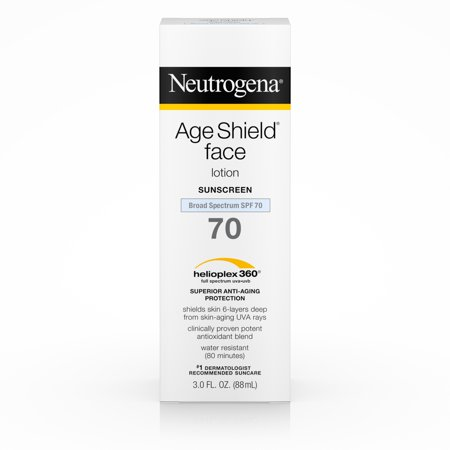Neutrogena Age Shield Anti-Oxidant Face Sunscreen SPF 70, 3 fl. oz