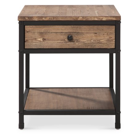 Magnussen Square End Table - Magnussen Maguire Square End Table