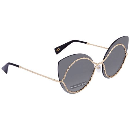 Marc Jacobs Metal Cat Eye Sunglasses MARC161S 0J5G IR 61