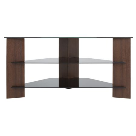 - AVF Varano TV Stand with Black Glass Shelves for TVs up to 42