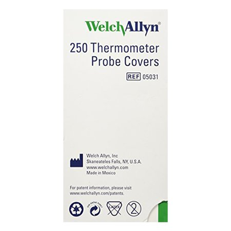 Welch-Allyn Disposable Probe Covers for SureTemp Plus 690 ct/250