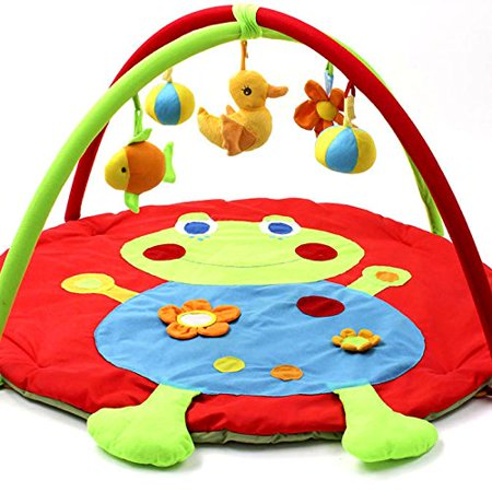 Baby Gyms & Playmats Baby Frog Game Playmat Newborn Baby Gym Activity Playmat Crawling Game Mat Cartoon Floor Play Mat With Pillow Plush Toys Activity & Gear
