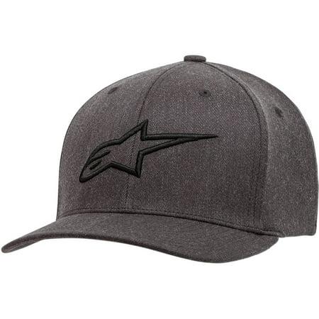 Alpinestars Mens Hat (Alpinestars Ageless Curve Flexfit Hat - Grey/Black - Large/X-Large )