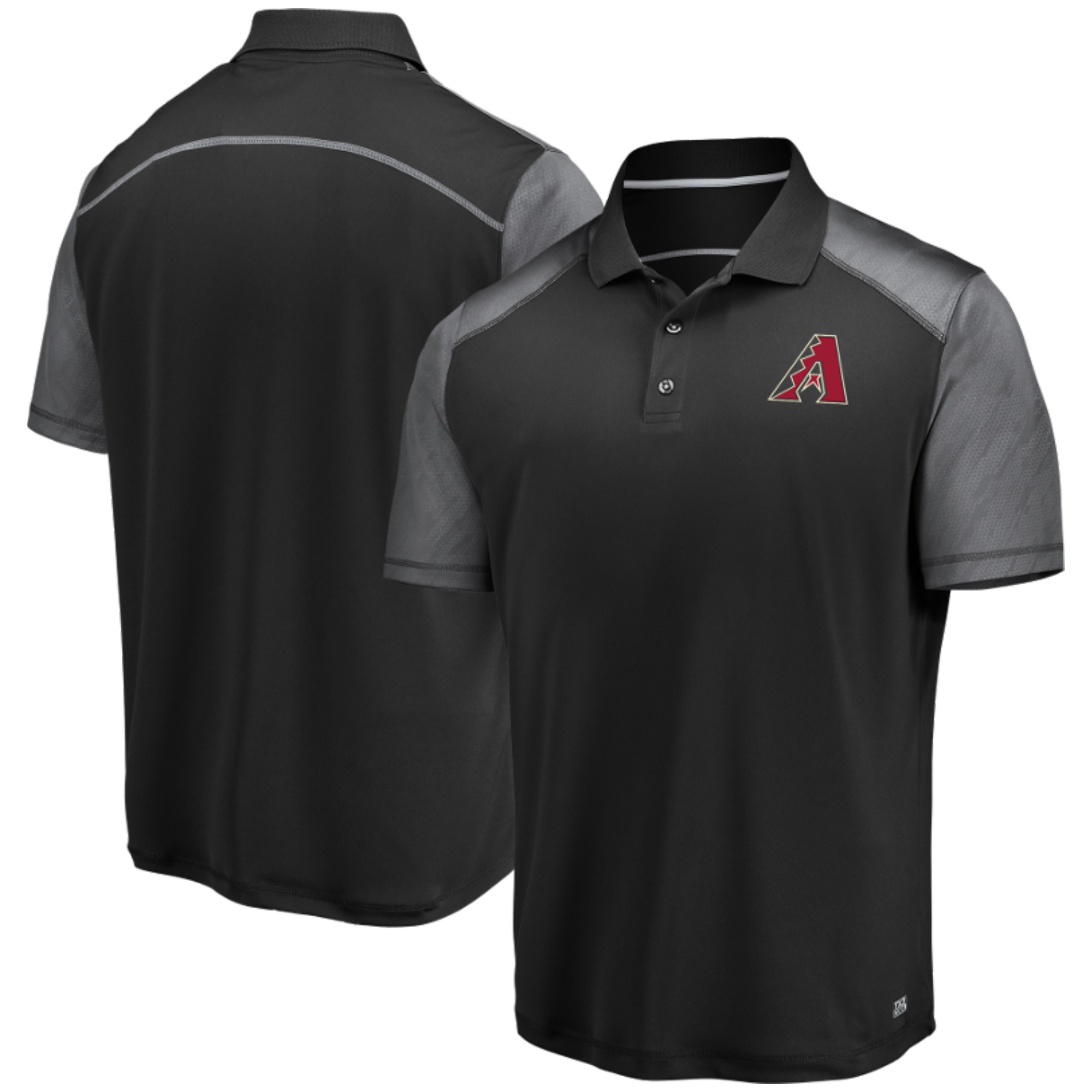 Men's Black Arizona Diamondbacks Cool Base Polo