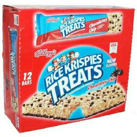 Product Of Kelloggs Rice Krispies Treats, Chocolatey Chip Big Bar, Count 12 (2.9 oz) - Granola/Cereal/Oat/Brkfast Bar / Grab Varieties & - Rice Crispy Treats Halloween Recipes