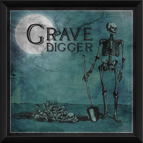 The Artwork Factory Grave Digger Framed Graphic Art