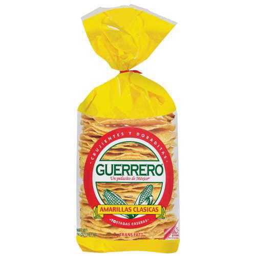 Guerrero: Tostadas Caseras Amarillas Clasicas Amarillas Clasicas, 14 Oz