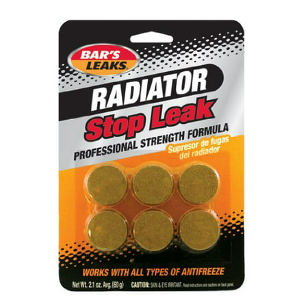 (6 Pack) Bar's leaks Radiator Stop Leak Tablets