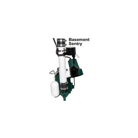- Zoeller 507-0005 Basement Sentry Battery Back Up Sump Pump