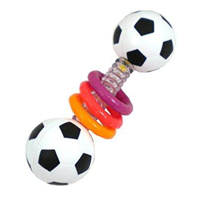 sassy mini sports rattle developmental (Best Sassy Rattle)