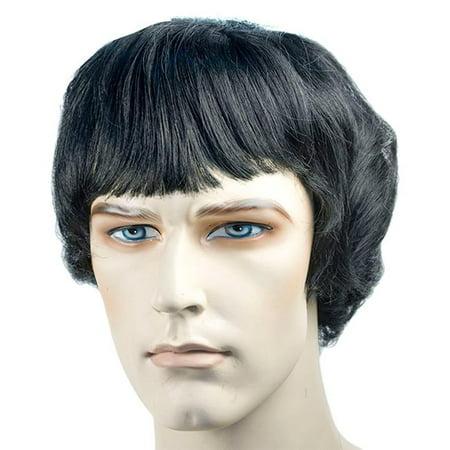 Beatle SPB Black Wig Costume - Beatle Costumes