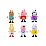 Peppa Pig What I Want to Be Figure 6 Pack
