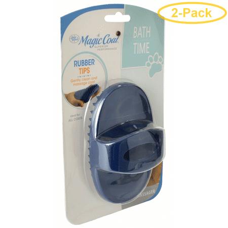 Magic Coat Bath Time Love Glove Bath Massager 1 Count - Pack of 2