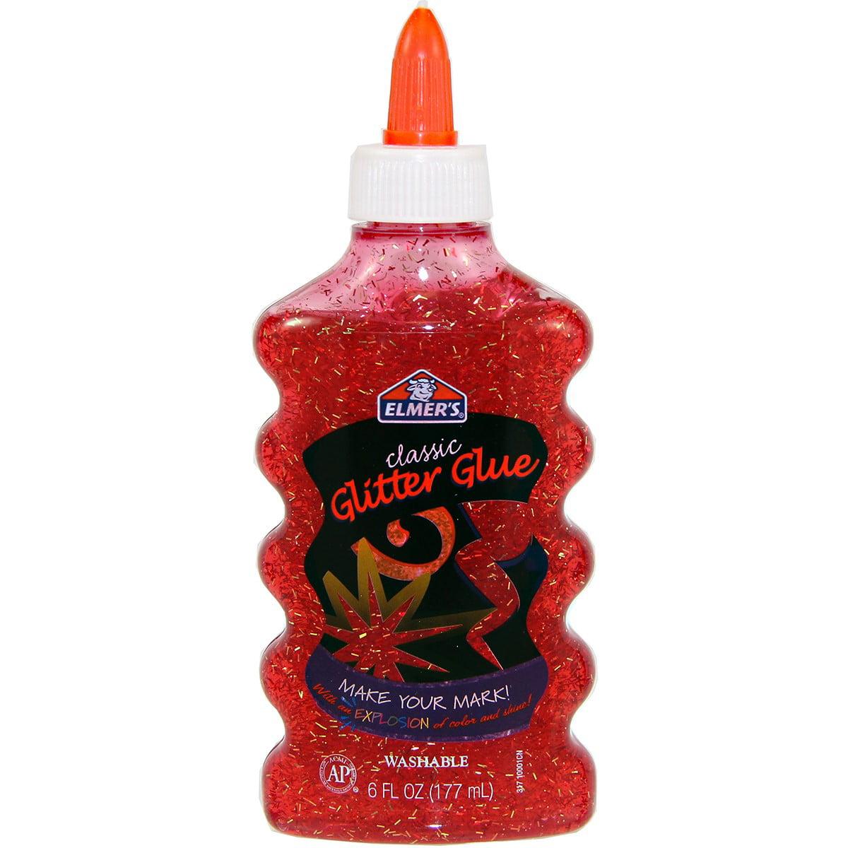 Elmer's Glitter Glue 6oz Red