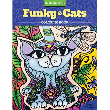 Funky Farmyard Activity (Funky Cats Coloring Book)
