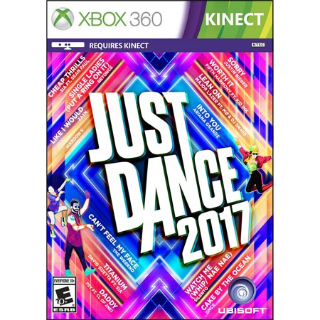 Just Dance 2017, Ubisoft, Xbox 360, 887256023010