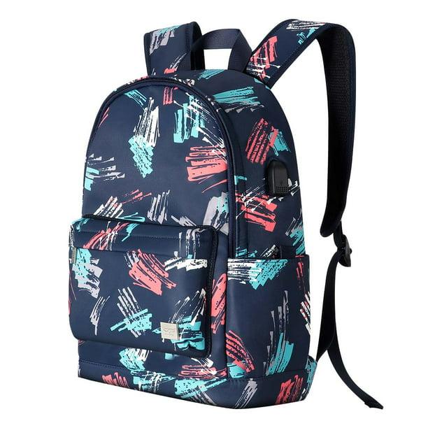 Travel Laptop Backpack,Printing Computer Backpack Lightweight School Bag Foldable Duffle Backpack for Women//Men Student