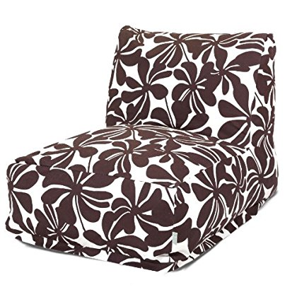 Majestic Home Goods Chocolate Plantation Bean Bag Chair Lounger