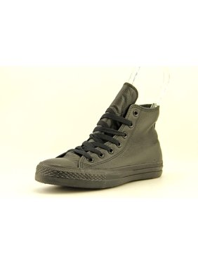 Product Image Converse Chuck Taylor All Star Leather Hi Round Toe Leather Sneakers