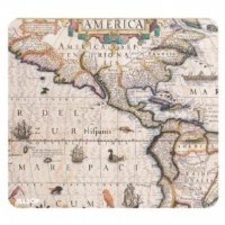 Image of Allsop 28927 Mouse Pad Americas Chart