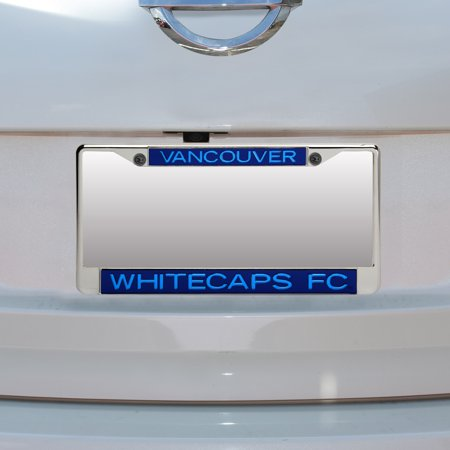 Vancouver Whitecaps FC Acrylic Insert Chrome License Plate Frame - No Size Chrome Plated Insert
