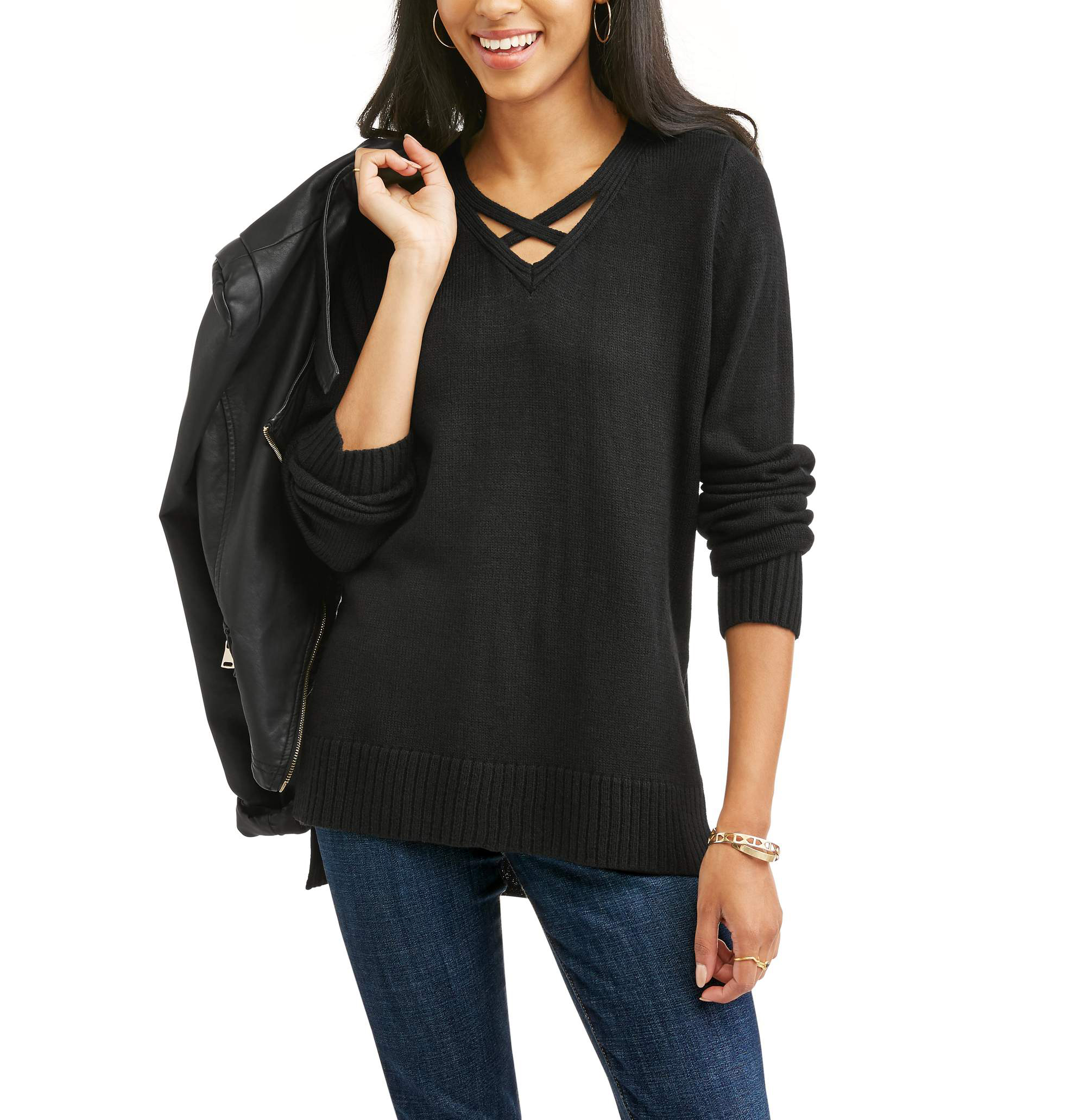 Willow And Wind Women S Sweater With Caging Onsales41 Com