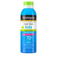 Neutrogena Kids Water-Resistant Sunscreen Spray SPF 70, Oil-Free, 5 oz