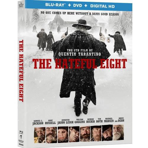 The Hateful Eight (Blu-ray + DVD + Digital Copy) (With INSTAWATCH)