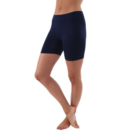 Womens Seamless Mini Shorts Body Contouring Active Wear - Available in Various