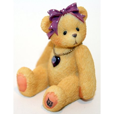 Little Sparkles Birthstone Bear February by By Cherished Teddies ()