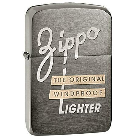 Zippo Black Ice 1941 Replica Windproof Lighter