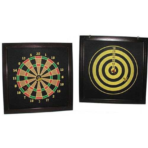 Classic Game Collection Magnetic Double-Sided Dart Board