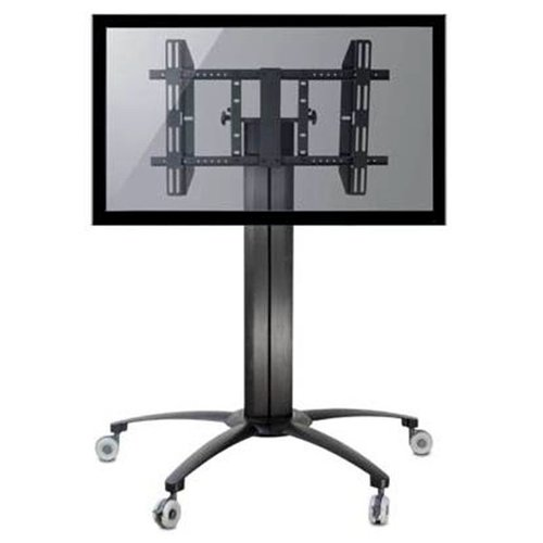 """TygerClaw Mobile TV Stand for 32""""-55"""" Flat Panel TV"""