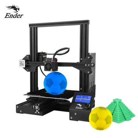 Creality 3D Ender-3 High-precision DIY 3D Printer Self-assemble 220 * 220 * 250mm Printing Size (Airwolf 3d Printer)