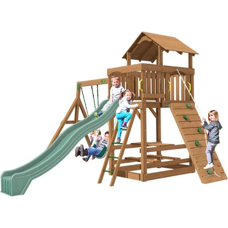 Creative Playthings Spring Hill Swing Set (Creative Playthings Swing Sets)