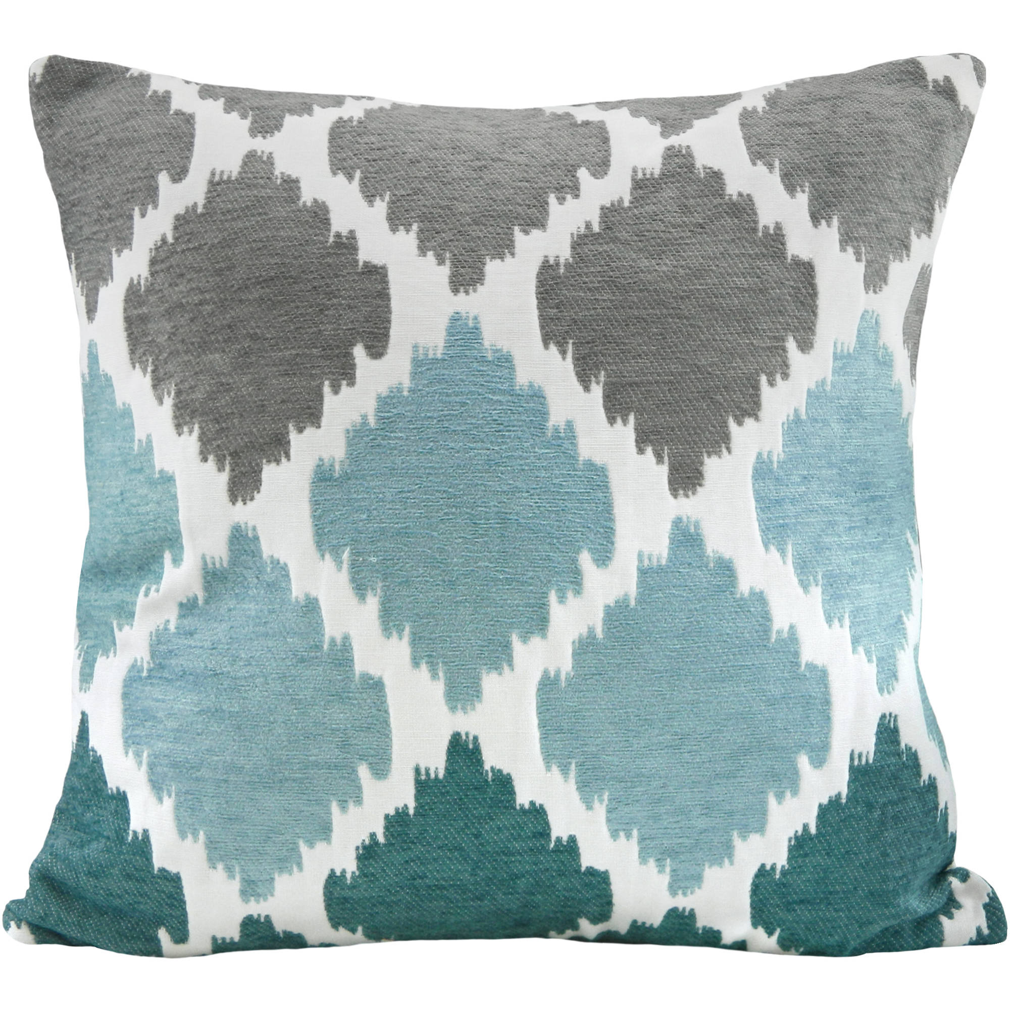 Better Homes and Gardens Ikat Chenille Pillow