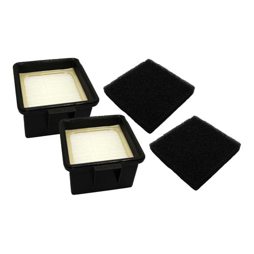 Crucial 4 Piece Dirt Devil F43 HEPA Filters and Foam Filter Set