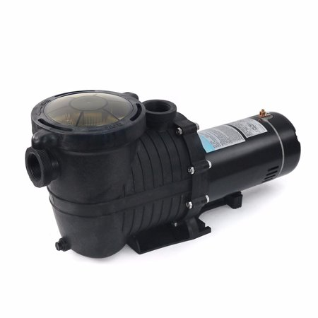 230v Swimming Pool Pump (XtremepowerUS 2HP Pool Pump In/Aboveground 5850GPH, with Strainer 230V 1.5